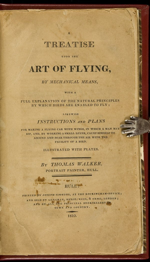6: Walker's Treatise Upon the Art of Flying 1810