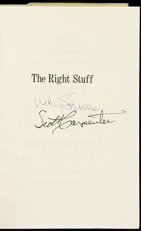 22: The Right Stuff - Signed by 2 Astronauts