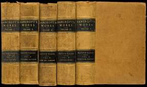 28: HH Bancroft Works vols. I-V Native Races