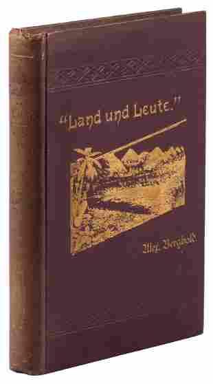 A German's account of travels in Western U.S.