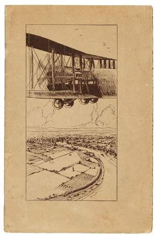 Early 1920's airline from S.F. to L.A.