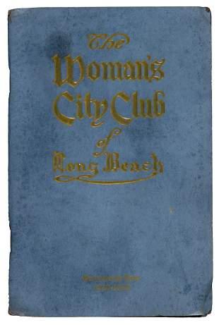 1928 Women's Club of Long Beach, CA Annuals