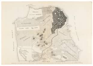 San Francisco Imperishable 1906 map