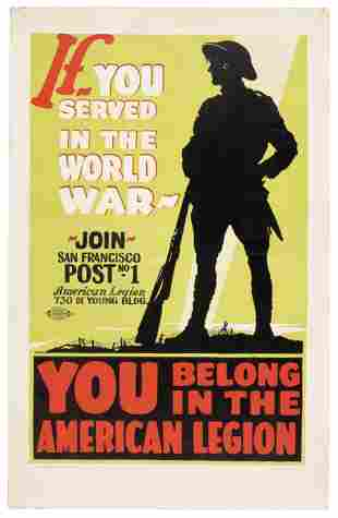 Join the American Legion after WWI