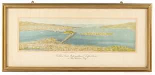 Birds-eye view of Treasure Island & the Bridges