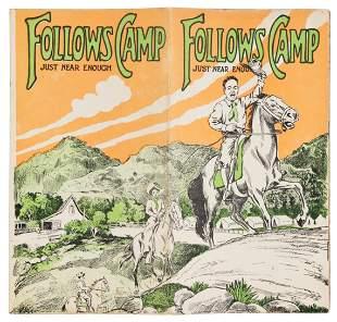 c.1895 San Gabriel Mountains family rec camp