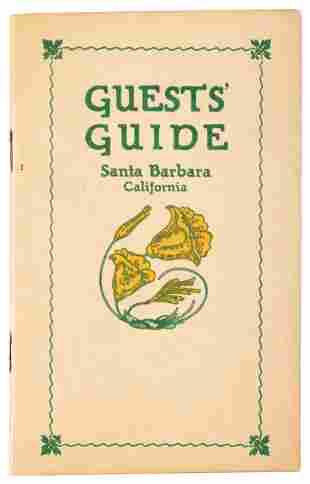 Scarce tourists' guide to Santa Barbara