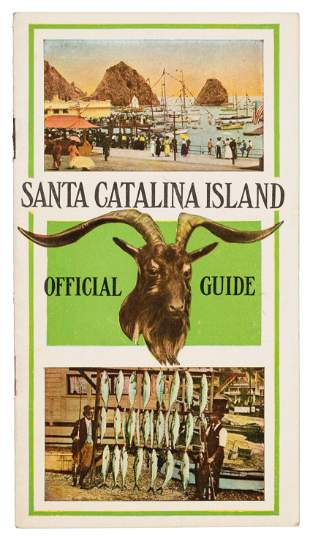 Rare guide to Santa Catalina Island c.1911