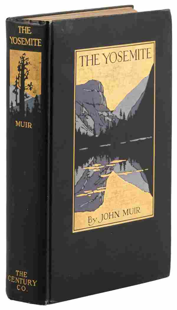 John Muir The Yosemite First Edition