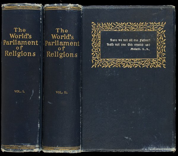5: Barrows World Parliament of Religions 1893