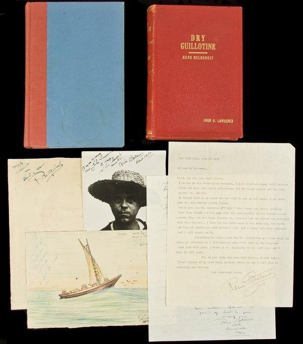 7: Archive of letters from René Belbenoit