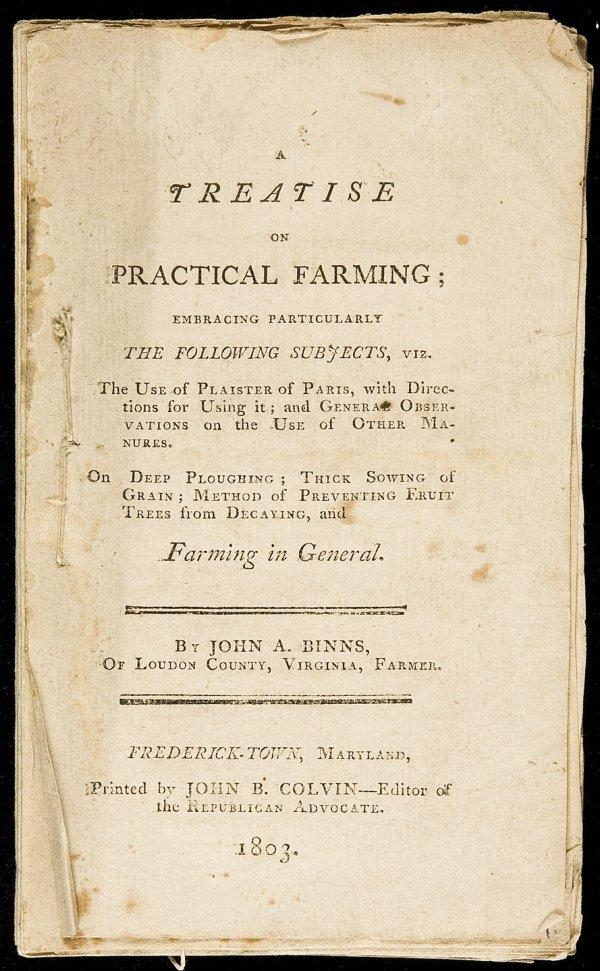 15: Binns' Practical Farming 1804