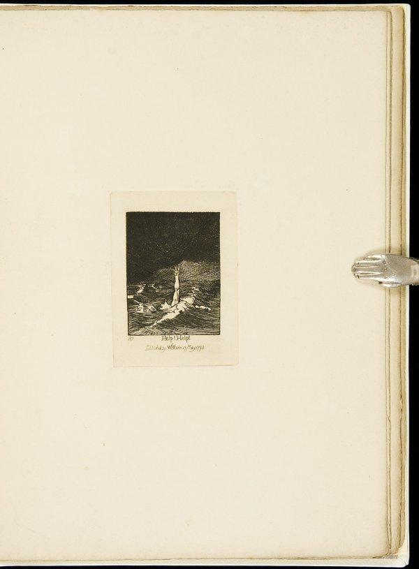 16: Muir facsimile of Blakes Gates of Paradise