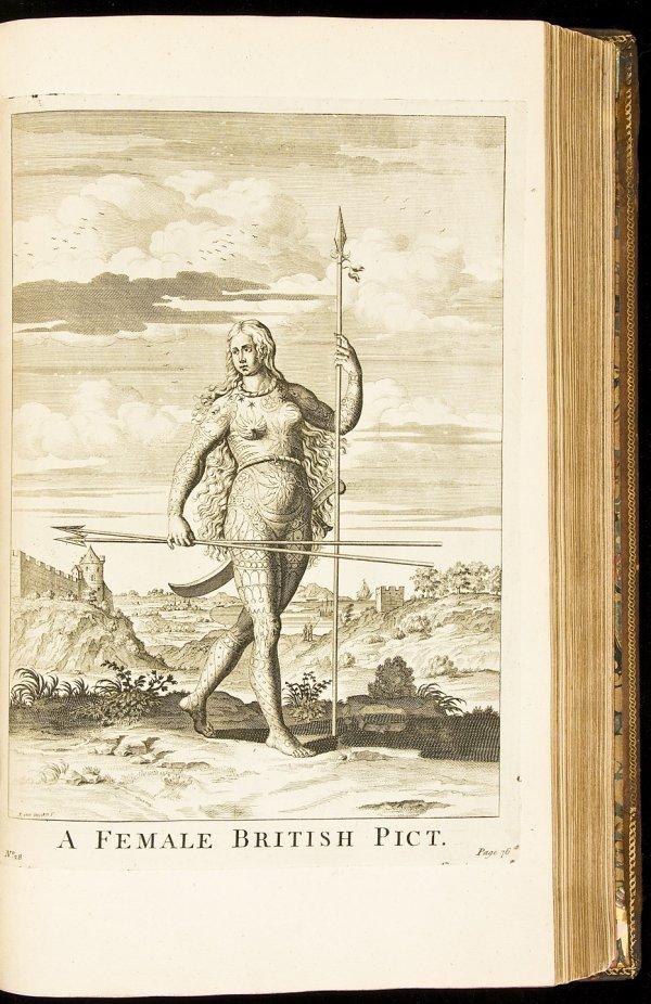 17: Caesar's Commentaries 1753 folio edition
