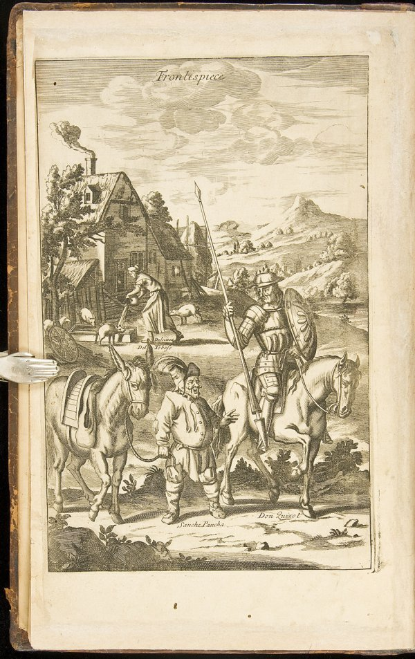 21: Illustrated edition of Don Quixote 1687
