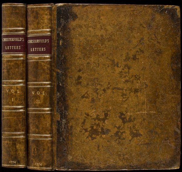 23: Chesterfields Letters to His Son 1st Edition