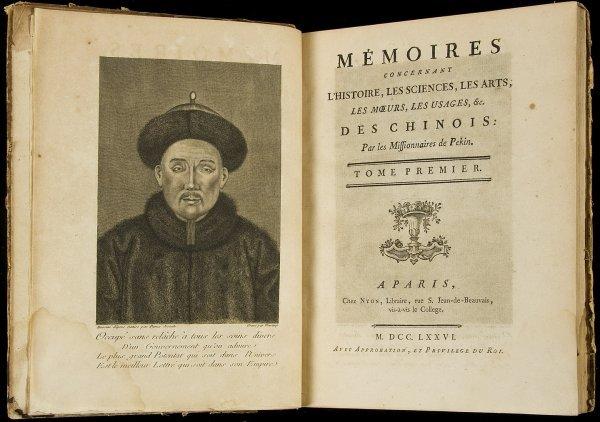 24: Memoires Chinois 15 vols. 1776-91