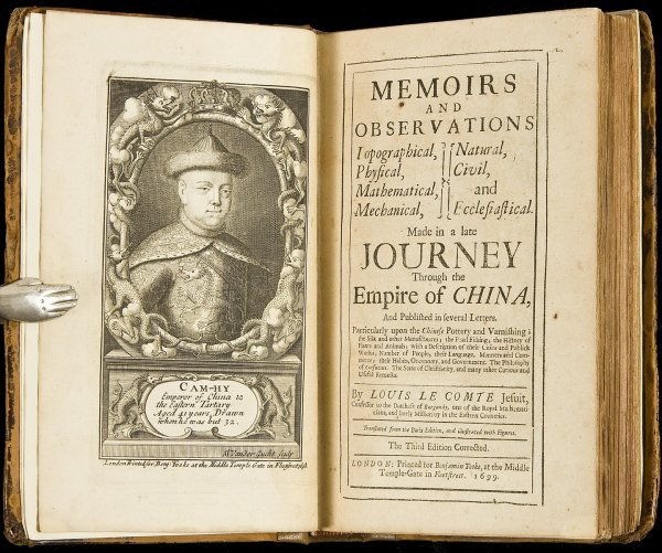 116: Le Comte's Memoirs of China 1699