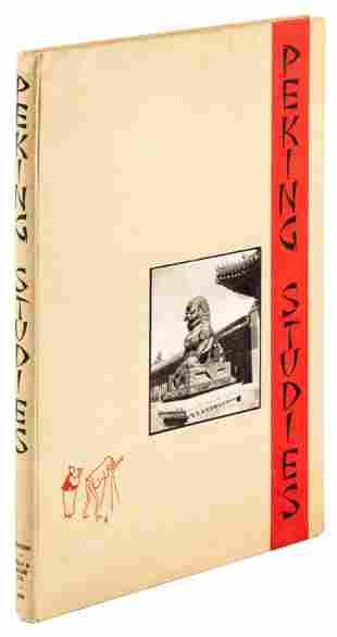 Peking Studies, photos by Ellen Catleen 1934