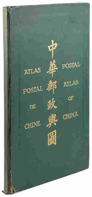 China Postal Atlas 1933