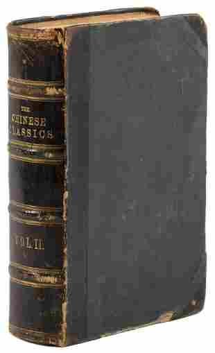 Legge's translation of Works of Mencius, 1861