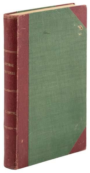 Proverbs of China, 1902 Shanghai printing