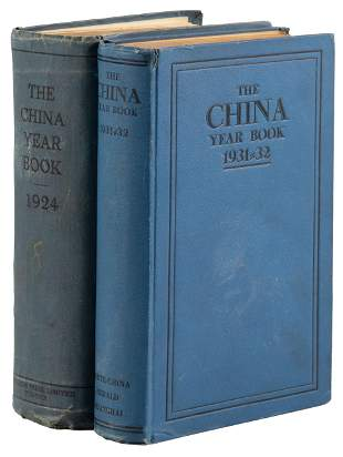 Two China Year Books, 1924 & 1932