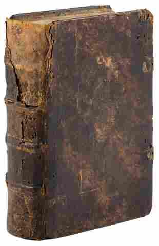 18th century Bible in Romanian