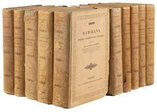 First edition with original Sanskrit, 1843-58