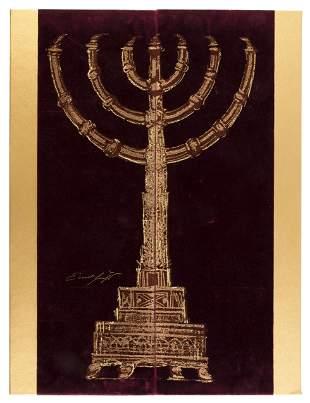 Livre d'artiste of Kabbalah text by Ernst Fuchs
