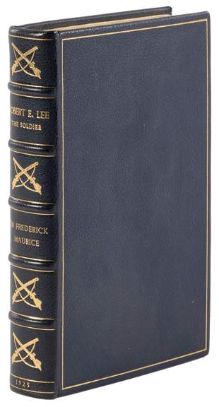 Robert E. Lee The Soldier, nicely bound