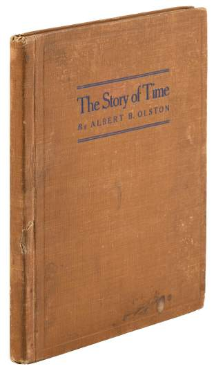 Scarce book on the history of time