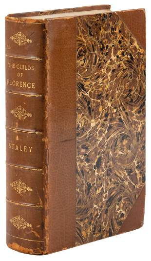 A handsomely bound copy