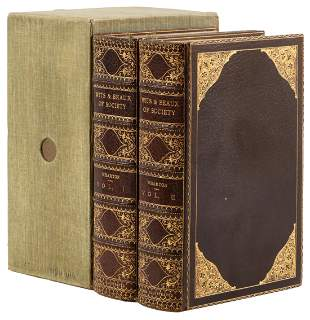 Wits and Beaux of Society, bound by Bayntun