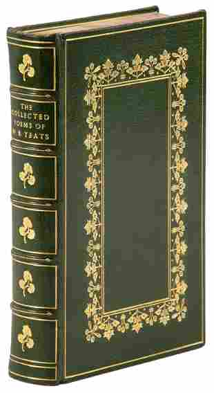 Poems of W.B. Yeats, bound by Bayntun-Riviere