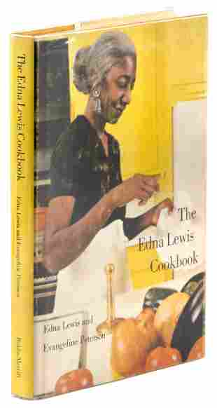 The Edna Lewis Cookbook 1st ed. in jacket
