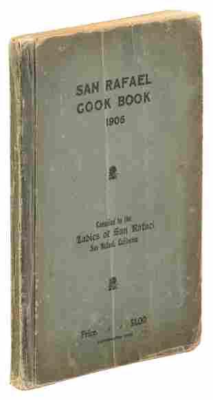 Cookbook by the ladies of San Rafael, Cal., 1906