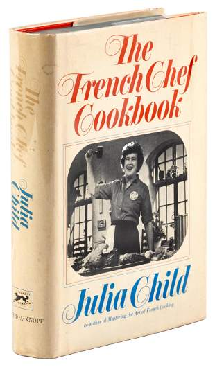 Signed by Julia Child, 1971