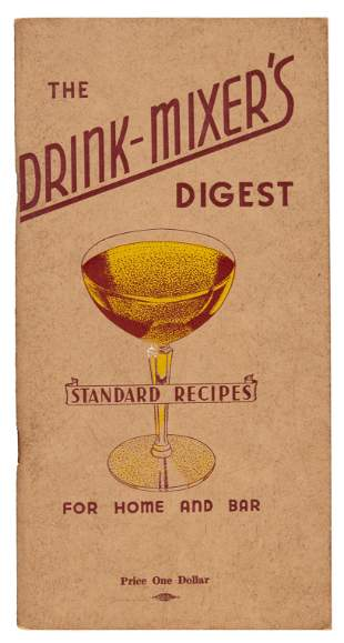 The Drink Mixer's Digest 1946