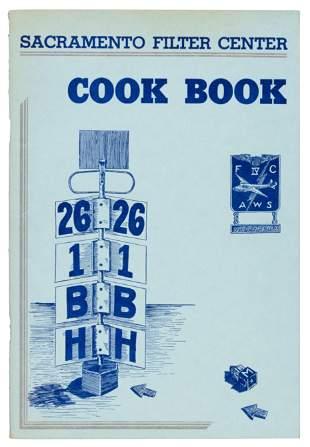 Sacramento Filter Center WWII Cook Book 1943