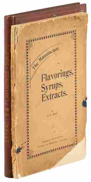 Two works on syrups and flavoring by Sulz