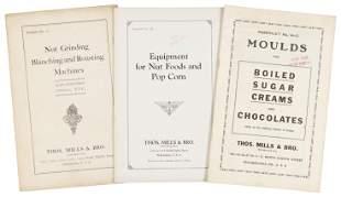 3 trade catalogs from Thos. Mills & Bro. c.1930