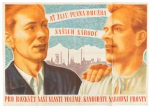 Three Czechoslovakian posters