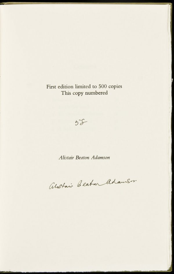 6: Rabbits, Golf & St. Andrews sgnd lmtd by Adamson
