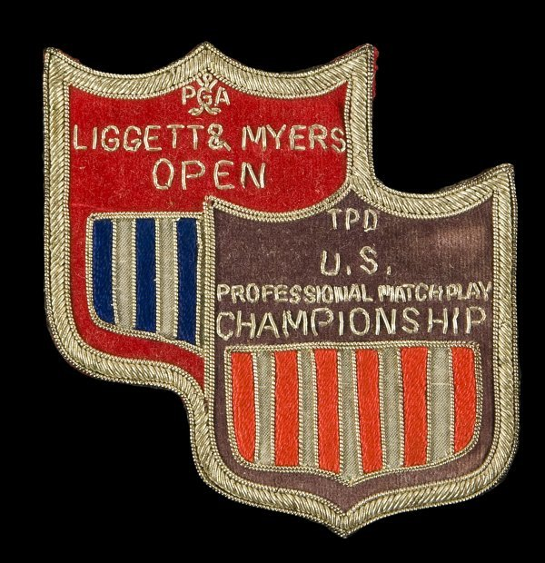 18: Liggett Myers Open embroidered badge c.1972