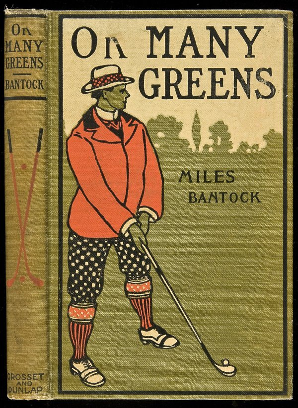 20: On Many Greens by Miles Bantock 1901 1st ed