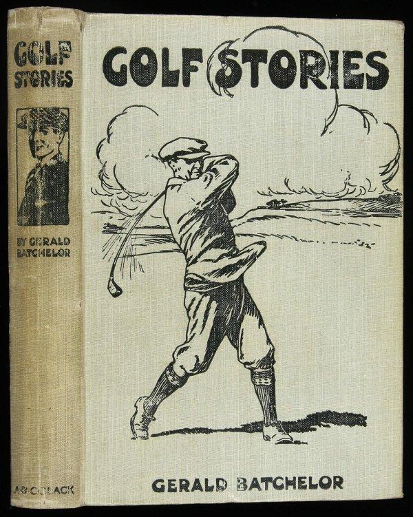 24: Gerald Batchelor Golf Stories first edition book