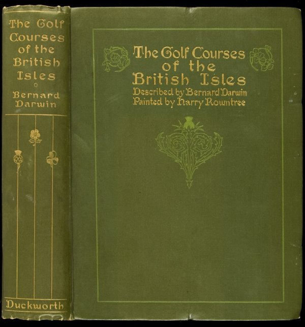 75: Golf Courses of the British Isles by Darwin 1910