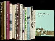 155: 15 golf history books, mostly UK also US