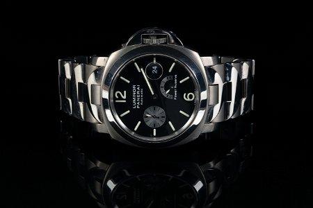 PANERAI Luminor Automatic Wristwatch, Titanium, c.2003